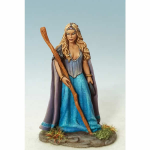 DSM1176 Female Mage Or Druid With Staff Dark Sword Miniatures