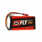 VEN-25087BAT Fly 30C 3S 950mAh 11.1V LiPo Battery JST Plug