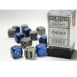 CHX25701 Dixie D6 Dice with Pips 16mm (5/8in) Pack of 12 Dice Chessex