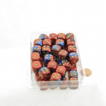 WCXDG1629E50 Blue and Red Gemini Dice with Gold Pips D6 16mm (5/8in) Bulk Pack of 50 Wondertrail