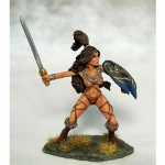Dsm1171 Amazon Warrior With Sword And Shield Miniature Elmore Masterworks