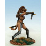 Dsm1174 Female Warrior Miniature Elmore Masterworks