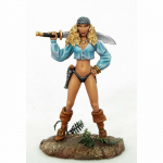 Dsm1180 Female Pirate With Sword Miniature Elmore Masterworks