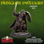 Rpr07002 Baran Blacktree Miniature Dungeon Dwellers Reaper Minitures