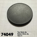 Rpr74049 50mm Round Gaming Base (10)