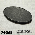 Rpr74065 60mm X 35mm Oval Gaming Bases Pack Of 10