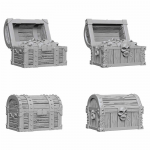 Wzk72590 Chests Wizkids Deep Cuts Unpainted Miniatures