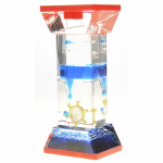 AZITG01 Liquid Motion Blue Bubbler Desk Novelty