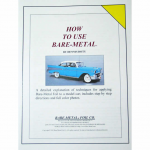 BMF105 How To Use Bare Metal Foil Instruction Booklet