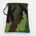 GHGCB1012 Camo Print Cotton Gamers Dice Bag (5in x 7in) Gallant Hands