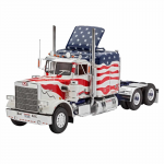 Reg07429 Marmon Conventional Stars And Stripes 1/25 Scale Plastic Model Kit