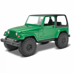 REV1695 Jeep Rubicon 1/25 Scale Build And Play Plastic Model Kit