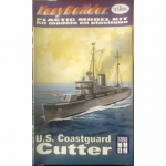 TES862004 US Coast Guard Cutter 1/600 Scale Plastic Model Kit Testors