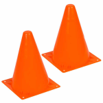 WONSI30040 Orange Cones 7 Inches Tall Pack of Two Wondertrail