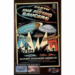 ATM1005 Earth vs The Flying Saucers UFO 5 Inch Disk Plastic Model Kit Atlantis Models