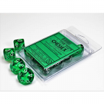 Chx23275 Trans Green White D10 Set