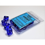 Chx23276 Trans Blue White D10 Set