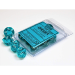 Chx23285 Trans Teal White D10 Set