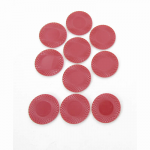 Kop18988 Red Poker Chips 1.5in Pack Of 10