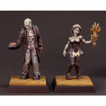 Rpr01626 Barglemore And Camille Miniature Reapercon 2018