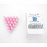 WKP04235E20 Pink Halma Game Pawns 24mm x 13mm Pack of 20