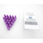WKP04236E20 Purple Halma Game Pawns 24mm x 13mm Pack of 20