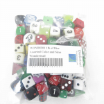 WONDIE01 1lb of Dice Assorted Color and Sizes Wondertrail