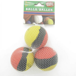 WONDS006 Hi Bounce 2 Inch Rubber Balls 3pk Assorted Colors