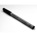 CHX03129 Black Broad Tip Non-Permanent Gameing Mat Marker Chessex