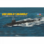 HBM87003 USS Seawolf Attack Submarine 1/700 Scale Model Kit Hobby Boss