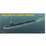 HBM87004 USS Jimmy Carter SN-23 1/700 Scale Plastic Model Kit