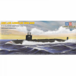 HBM87014 USS Los Angeles SSN-688 1/700 Scale Plastic Model Kit Hobby Boss
