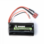 RCEB1225 7.4v 1500mah Li-ion Battery with T Connector Racers Edge