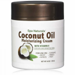 WONDS019 Coconut Oil Moisturizing Cream 6oz Jar