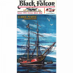 ATM6003 Black Falcon Pirate Ship 1/100 Scale Plastic Model Kit Atlantis Models