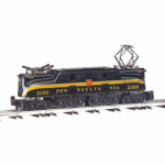 Bac41702 Gg1 Pennsylvania Silver One Green Stripe O Scale Electric Locomotive