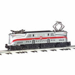 Bac41703 Gg1 Pennsylvania Silver One Red Stripe O Scale Electric Locomotive