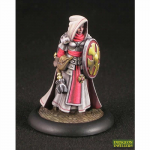 Rpr07023 Ailene Female Cleric Miniature Dungeon Dwellers Reaper Minitures