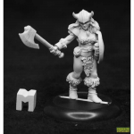 Rpr07025 Jana Frostwind Barbarian Miniature Dungeon Dwellers Reaper Minitures