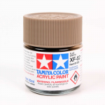 TAM81352 Xf52 Flat Earth 23ml Bottle Hobby Paint Tamiya