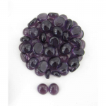 Wcx01127 Crystal Purple Glass Stones 40 Or More