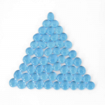 Wcx01136 Crystal Light Blue Glass Stones 40 Or More