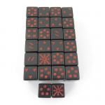 WCXXQ0818E50 Arrows of Chaos Dice Red Markings D6 16mm Pack of 50