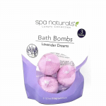 WONDS022 Lavender Dreams Bath Bomb Pack of 3 Each Wondertrail