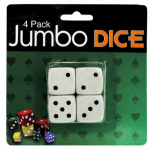 WONDSGV205 Jumbo Dice (19mm) 4 Pack Wondertrail