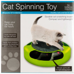 WONDSOC992 Cat Scatch Pad With Spinning Mouse Wondertrail