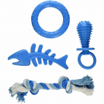 WONDSOF653 Puppy Toy and Teeth Cleaning Set Wondertrail