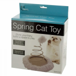 WONDSOS943 Furry Spring Cat Toy Wondertrail
