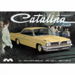 MOE1217 1961 Pontiac Catalina 1/25 Scale Plastic Model Kit Moebius