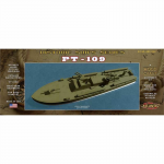 ATM7004 JFK PT-109 1/80 Scale Wooden Model Assembly Kit Atlantis Models